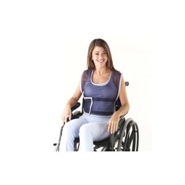 Colete de posicionamento à cadeira