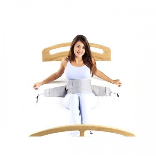 Cinto abdominal para cama em polipropileno+algodão standard c/ fecho de gancho