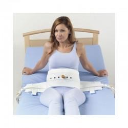 Cinto abdominal em tela para cama com fecho em íman