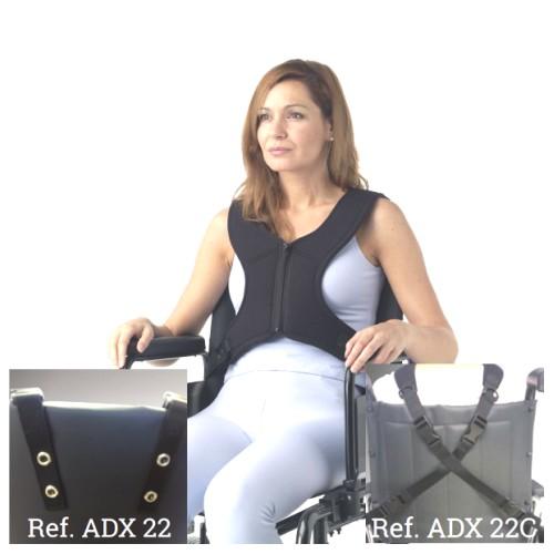 Imobilizador torácico em X