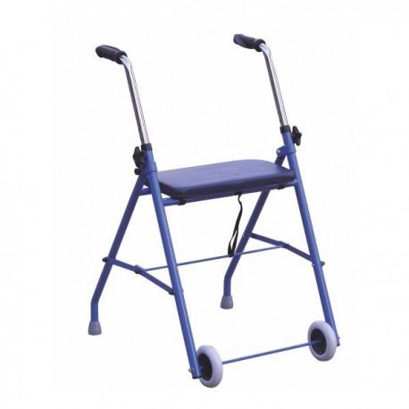 Andarilho com duas rodas e assento