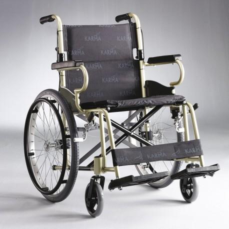 Cadeira de rodas de alumínio trânsito