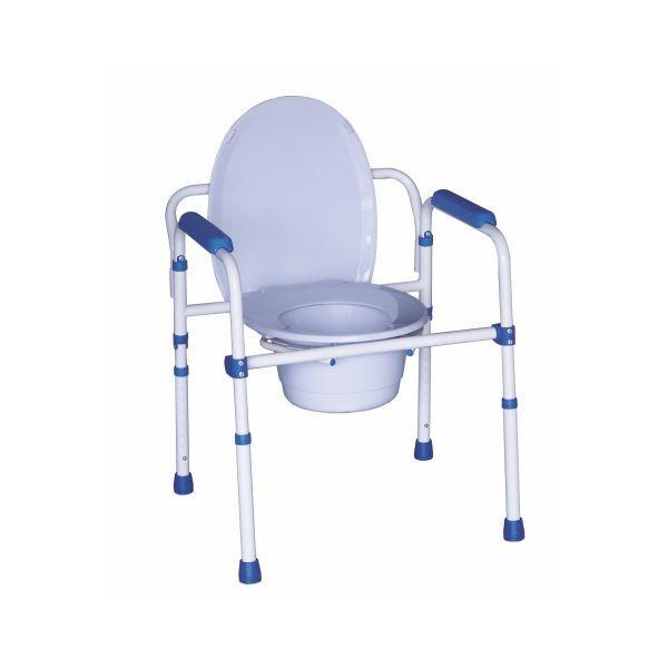 Cadeira de encartar WC Blue Steel com dispositivo sanitário