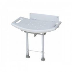 Assento de parede Rumble para duche com 2 pés