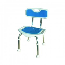 Cadeira de duche regulável em altura
