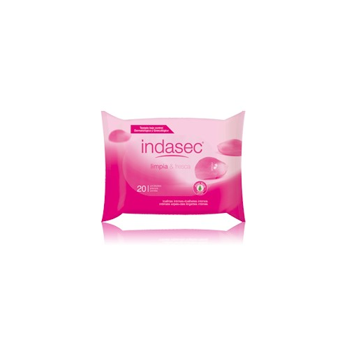 Indasec - Toalhitas para Higiene Íntima