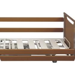 Par de Guardas Laterais de madeira de faia para camas Winncare