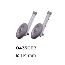 Rodízios Dianteiros para Andarilho Escort P435B (opcional)
