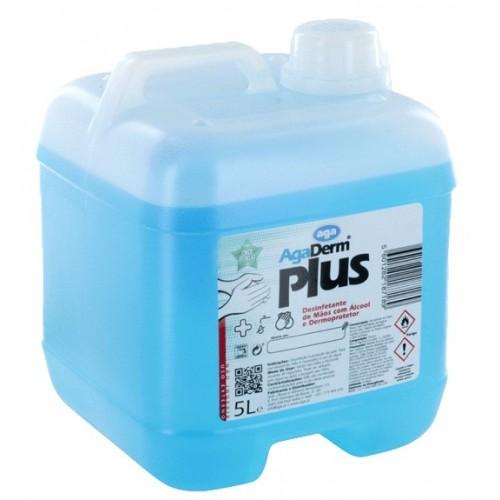 AGADERM PLUS-Desinfetante p/ Mãos - 5000 ml