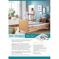 Cama Dali Standard - Cama articulada elétrica de elevação e inclinação de 24 volts (Versão Arminia)