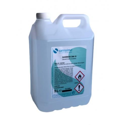 SANIBIOK DM-10 - Desinfetante de mãos com Álcool 5000ml