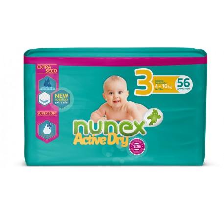 Fralda de Bebé Nunex Active Dry