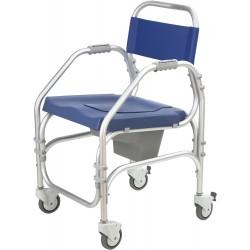 PACIFIC - Cadeira de banho e WC 46cm em alumínio