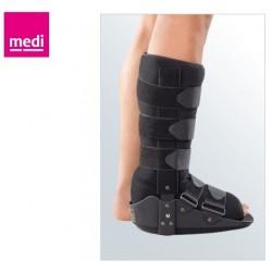 P.BOOT-Bota Walker Fixa Confortável p/ Lesões no Tornozelo e Pé, Leve e Segura, c/Formato Otimizado