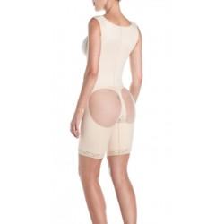 Cinta aumento de glúteos, c/ costas e c/ reforço localizado e sem compressão nos glúteos