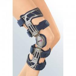 Ortótese de 4 pontos para joelho, para alívio da pressão varus/valgus e estabilização