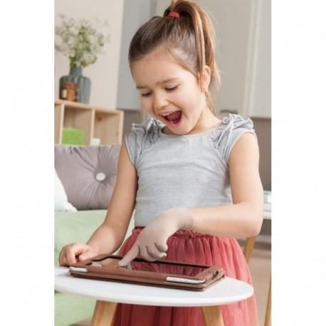 Dedo do Smartphone para uma utilização simples de aparelhos com monitor táctil (Touchscreen) Criança com Dedo do Smartphone par