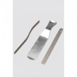Três barras de alumínio amovíveis e adaptáveis individualmente