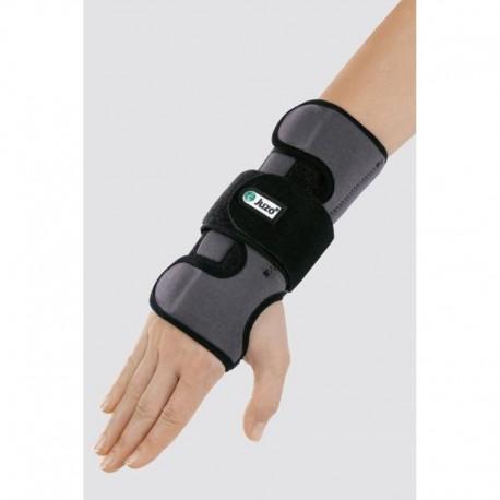Um material especial, exclusivo da Juzo que, com o uso, se adapta à forma da mão